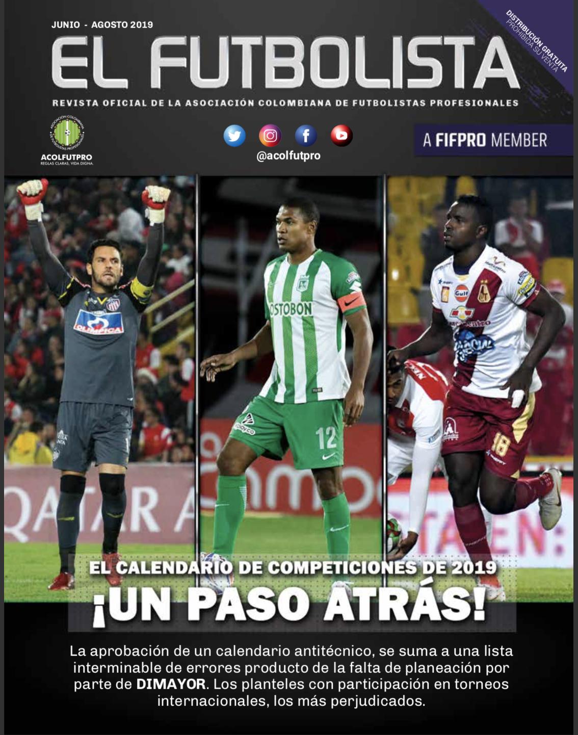 El Futbolista | Junio – Agosto 2019