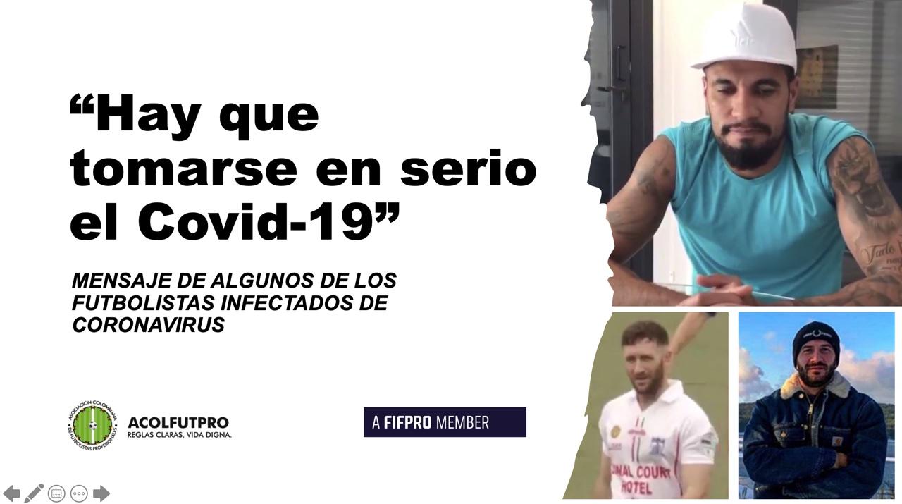 """""""Tomemos en serio el Covid-19"""": mensaje de algunos de los futbolistas infectados en Europa"""