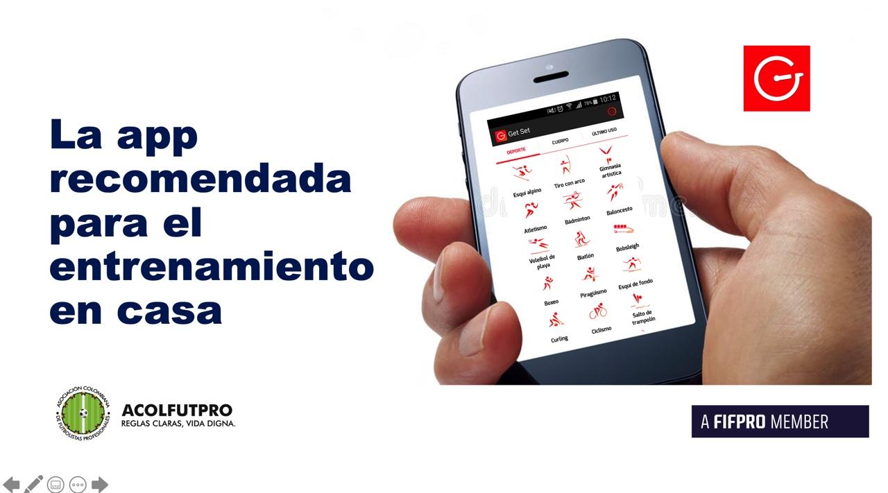 La aplicación que recomienda la Fifpro para el entrenamiento en casa de los futbolistas