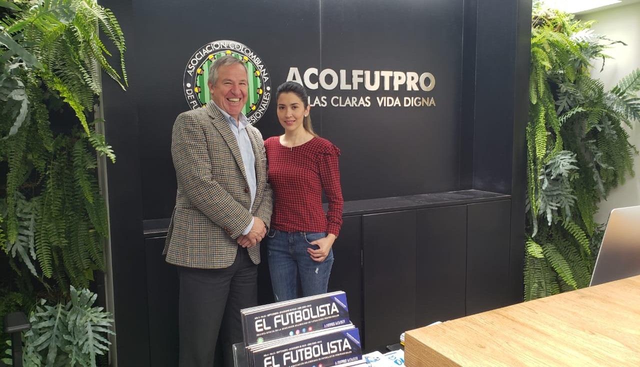Carolina Rozo llega a ACOLFUTPRO para luchar por los derechos de las futbolistas