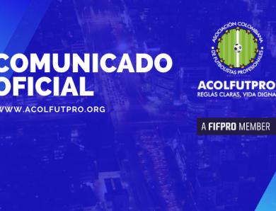 Comunicado | Juez tutela el derecho fundamental al buen nombre de los directivos de ACOLFUTPRO