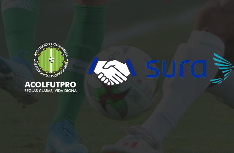 Gran aporte de nuestro aliado Seguros Sura para fortalecer la salud mental de las y los futbolistas