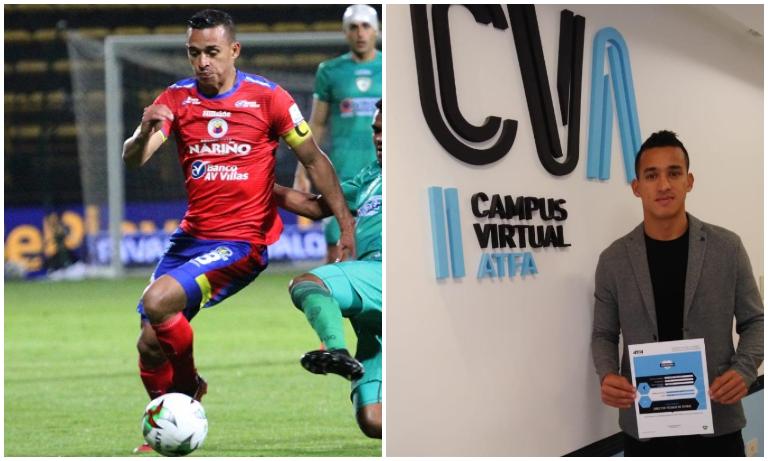 """""""ACOLFUTPRO siempre se ha interesado en que los futbolistas nos preparemos para el futuro"""": Camilo Ayala"""