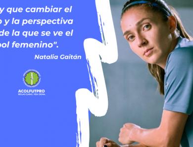 #MujeresFutbolistas   Natalia Gaitán