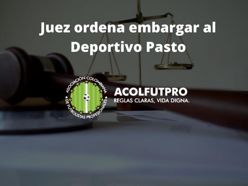 Juez ordena embargar al Deportivo Pasto