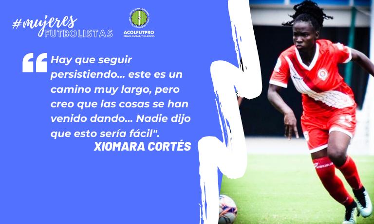 #MujeresFutbolistas | 'Mara' Cortés, una luchadora del fútbol que sueña con una liga femenina digna