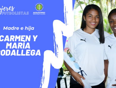 #MujeresFutbolistas | Carmen y María, unidas como madre e hija y también por su gran amor al fútbol