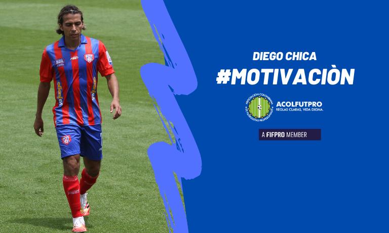 #MotivaciónACOLFUTPRO | Diego Chica habla de lo que debe hacer el futbolista pensando en su futuro