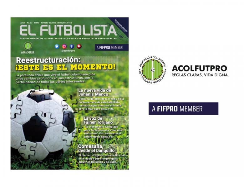 Revista EL FUTBOLISTA No. 13 | mayo-agosto 2020
