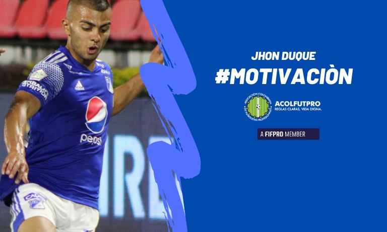 #MotivaciónACOLFUTPRO |El ingeniero Jhon Duque, ejemplo de organización y proyección