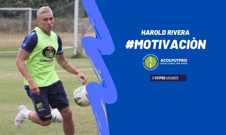 #MotivaciónACOLFUTPRO | Así aprovecha Harold Rivera el beneficio del Fondo de Educación