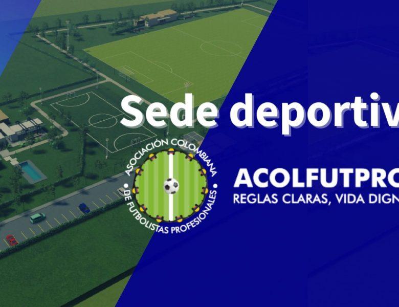 Sede deportiva ACOLFUTPRO | Ofrecemos un nuevo beneficio a los futbolistas profesionales en Colombia