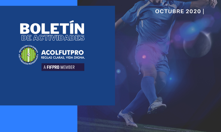 Boletín de actividades |Así trabajamos por los/las futbolistas en el mes de octubre