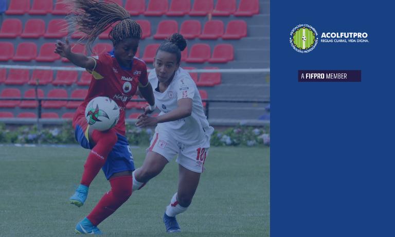 Informe de ACOLFUTPRO sobre la Liga Femenina BetPlay Dimayor 2020