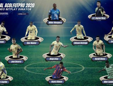 XI Ideal ACOLFUTPRO 2020 | Estos fueron los mejores del Torneo BetPlay Dimayor