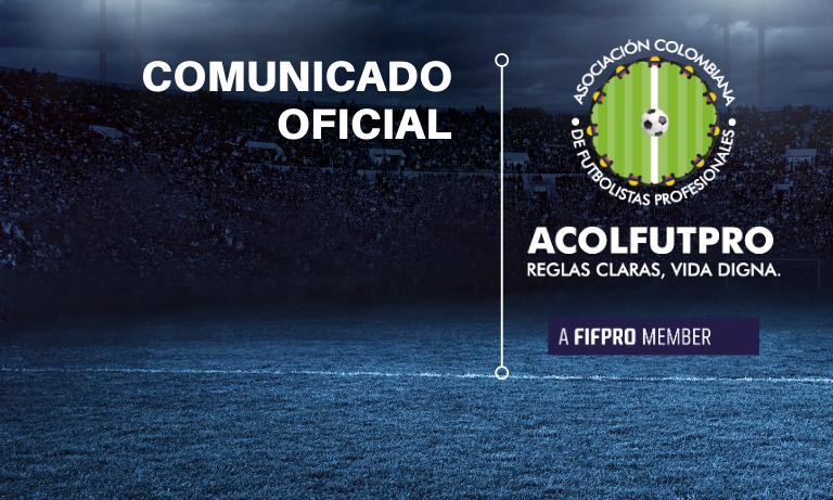 Comunicado | ACOLFUTPRO denuncia ante la SIC a la FCF, la Dimayor y los clubes profesionales