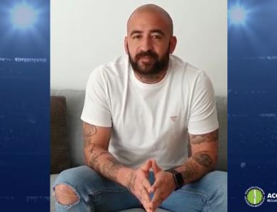 Óscar Meza agradece el apoyo de ACOLFUTPRO