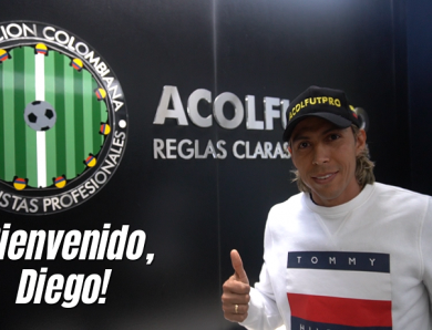 Diego Chica se une a la labor gremial de ACOLFUTPRO