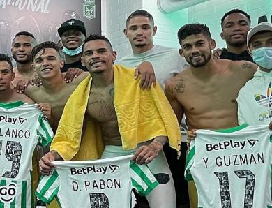 ACOLFUTPRO apoya a sus afiliados de Atlético Nacional