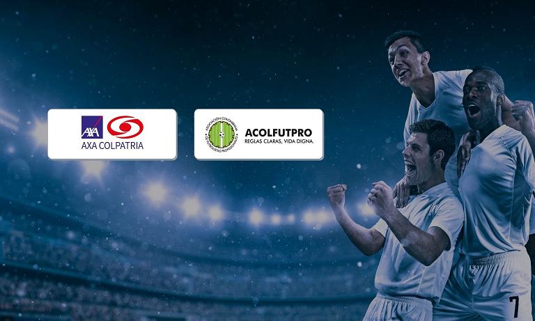 ACOLFUTPRO se une a AXA Colpatria para ofrecer más beneficios a los futbolistas